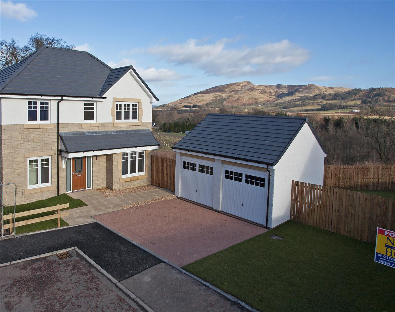 New Build, Ochil View, Auchterarder, Perthshire, PH3 1FF, UK